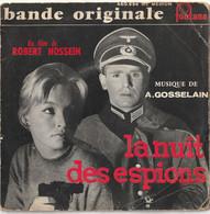 Vinyl - 45 Tours -  La Nuit Des Espions  André Et Robert Hossein Marina Vlady  - 1959 - Musica Di Film
