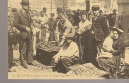 C.P. - MARSEILLE - MARCHANDS DE COQUILLAGES - CECODI - 151 - REPRODUCTION - C'ETAIT LA FRANCE - Ohne Zuordnung