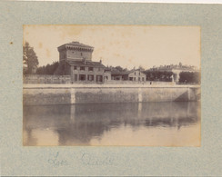 J112 - Photographie Originale GRENOBLE - La Citadelle - Le Colombier - Quai Jongkind - Ancianas (antes De 1900)