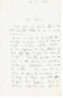 Emile GUILLAUMIN Département Allier (03) Lettre Du 23 Décembre 1926 - Autografi