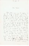 Emile GUILLAUMIN Département Allier (03) Lettre Du 30 Juin 1926 - Autografi