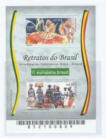 COB  4190/4191  (MNH) + (°)  Emission Commune - BF Timbres Du Brésil - Ungebraucht