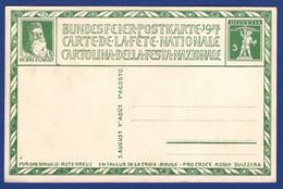 Bundesfeier-Postkarte 1917 (aa3551) - Entiers Postaux