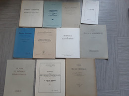 Lot De Publications Médicales - Scienza