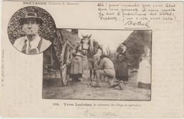 CPA   THEODORE  BOTREL  YVON LECLOHEC LE REBOUTEUX DU VILLAGE EN OPERATION   1901 - Saint-Brieuc