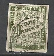 TAXE  N° 21 CACHET COCHINCHINE - Portomarken