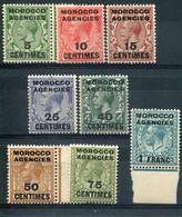 Maroc  Bureaux Anglais  Zone Française     2/9 ** - Uffici In Marocco / Tangeri (…-1958)
