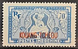KOUANG-TCHEOU 1941/42 - MLH - YT 134 - 70c - Ungebraucht