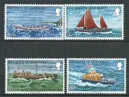 Guernesey  -  Serie  - Yvert N° 84  à 87 * *  4 Valeurs  -  Lr 32103 - Guernsey