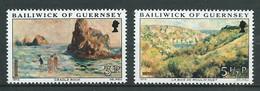 Guernesey Yvert N° 105 à 108  **   ( 2 Scans , 4 Valeurs ) - Lr 32106 - Guernsey