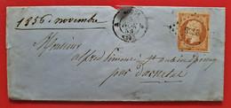 M ROUEN SAINT AUBIN EPINAY 1856 YT 13 A - 1849-1876: Periodo Classico