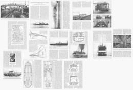 LES FERRY-BOATS  1919 - Boten