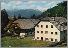 Olang Sorafurcia Geiselsberg Bad Bergfall - Jausenstation Bergjause Gelaufen Von Bruneck Brunico - Autres Villes