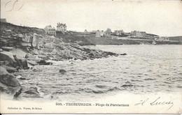 CARTE TREBEURDEN - PLAGE DE PORSTERMEN - Trébeurden