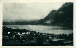 Sevrier Lac D'Annecy CPA 74 Haute Savoie Vue Générale Belle Carte Galcée  Ed Gil - Altri Comuni