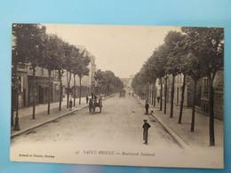 SAINT-BRIEUC - Boulevard National (Clémenceau) - Saint-Brieuc