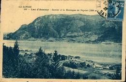 Sevrier Et La Montagne De Veyrier Lac D'Annecy CPA 74 Haute Savoie - Autres Communes