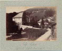 J112 - Photographie Originale - SAINT-PIERRE-DE-CHARTREUSE - Isère - Café Vichier - Grand Hôtel Du Désertws - Alte (vor 1900)