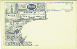 Gent/Gand. Tentoonstelling PROVINCIALE Exposition. 1899. - Gent