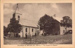 Ain, Plateau De Retord, La Chapelle De Retord   (bon Etat) - Sonstige Gemeinden