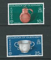 Guernesey   Série  Europa   Yvert N°  128 à 129 **   2 Valeurs Neuves Sans Charnière  -  Lr32202 - Guernsey