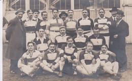 Carte Photo De Pamiers 1910 équipe De Rugby (photo Familiale) - Pamiers