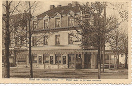 30 Calmpthout Villa Au Bien Venu Heide Cafe Restaurant Buitenzicht Hoelen Nr Niet Vermeld Gekarteld Leon Thielens Uitg - Kalmthout