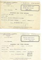 Action 1944 1943 Distilleries De La Suze Cinzano 1945 1943 - Zonder Classificatie