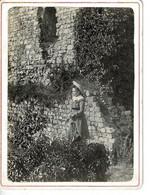 PHOTO (12,3 X 9,2 Cm) - DOMFRONT (orne), Vieux Chateau - Plaatsen