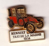 V13 Pin's  RENAULT TACOT TAXI MARNE Qualité Arthus Signé CEP Achat Immédiat - Renault