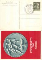 ALLEMAGNE REICH - YT 613 / MI 672 - Carte / Postkarte 1938 Congrès / Reichsparteitag NSDAP Nürnberg - Briefe U. Dokumente