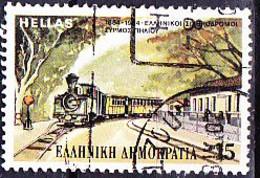 Griechenland Greece Grèce - 100 Jahre Eisenbahn (Mi.Nr.: 1564) 1984 - Gest Used Obl - Usati