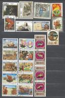 50 TIMBRES CUBA - Collections, Lots & Séries