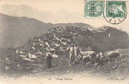 Kabylie - Village Kabyle - Ed. - Unclassified
