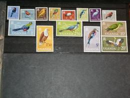 Uganda  ( Ouganda ) Oiseaux Birds   - 1965 MNH 14v - Unclassified