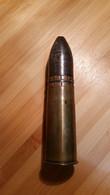 FRANCAIS  1918 /Obus De 37mm INERTE - Armas De Colección