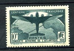321 - 10F Vert Atlantique Sud - Signé - Neuf N** - Très Beau - Ongebruikt