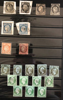 Collection Oblitérés - Très Bonnes Valeurs Et Très Bon état - Cote = 17.853€ - - Verzamelingen