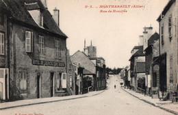 [03] Allier > Autres Communes Montmarault Rue De Moulins - Andere Gemeenten