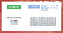 Brief, FRANKIT Neopost 1D050.., Europcar Hamburg, 55 C, 2009, Verlaengerte Matrix (99033) - Machine Stamps (ATM)