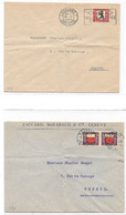 SUISSE - 1928 - PRO JUVENTUTE - LOT De 3 Lettres Internes - Switzerland Cover Schweiz Brief - Storia Postale