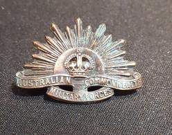 Rising Sun - Cap Badge - Anzac Australie Slouch Hat - 1914-1918 - 1914-18