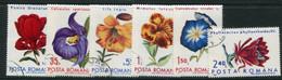 ROMANIA 1971 Botanic Garden Flowers Used.  Michel 2940-45 - Gebraucht