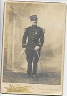 Militaria Photo 16x11 Cartonnée Capitaine Photog. CHERR à EPINAL Et BRUYERES ...G - Alte (vor 1900)