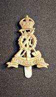 Cap Badge -  Royal Pioneer Corps BEF Armée Britannique 1914-1918 WWI - 1914-18