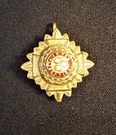 Cap Badge -  Rank Pips (Bath Stars) Officier BEF Armée Britannique 1914-1918 WWI - 1914-18