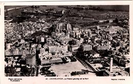 MAROC - CASABLANCA - La Place Lyautey Et Le Port - Casablanca