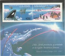 CHILI BLOC ET FEUILLET 1990 YT N° 38 ** - Chili