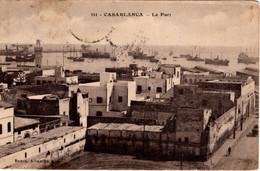 MAROC - CASABLANCA - Le Port - Casablanca
