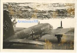 Belgique, 1940 - Knocke-Heist - Feldflugplatz - Aérodrome Du Zoute - Heinkel He 111 - Luftwaffe - Aufklärungsgruppe 21 - Krieg, Militär